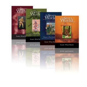 The Story of the World Series 4-Volume Set by Susan Wise Bauer
