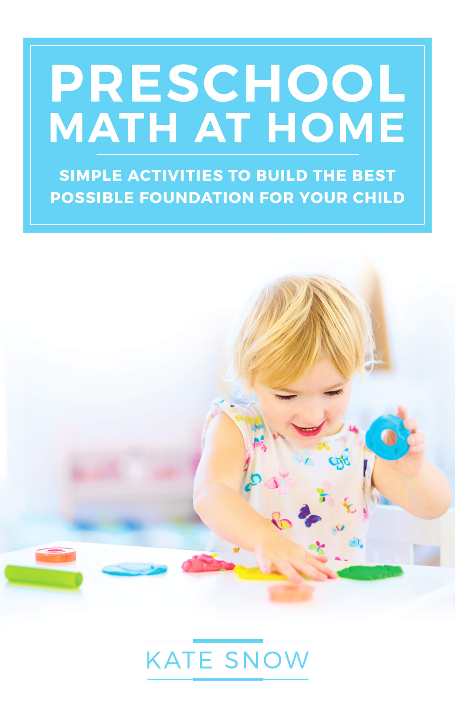 Downloadable PDF Preschool Math at Home