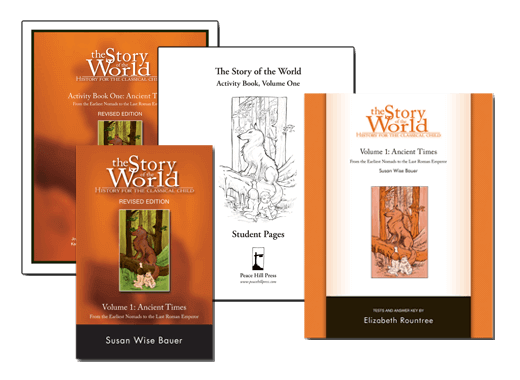 The Story Of The World Vol 1 Ancient Times Bundle Well Trained Mind