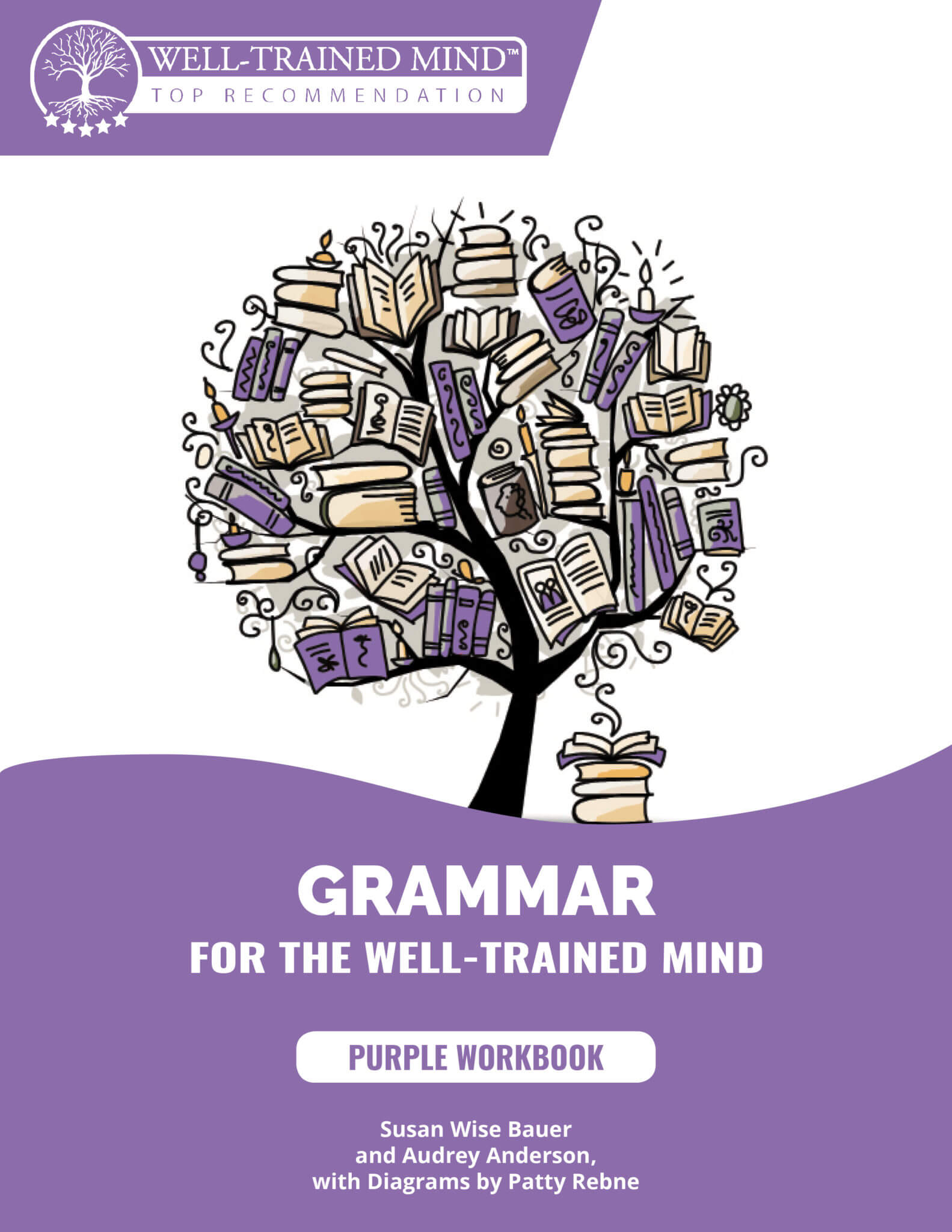 Grammar for the Well-Trained Mind, Complete Curriculum with Purple Student  Bundle (Physical)