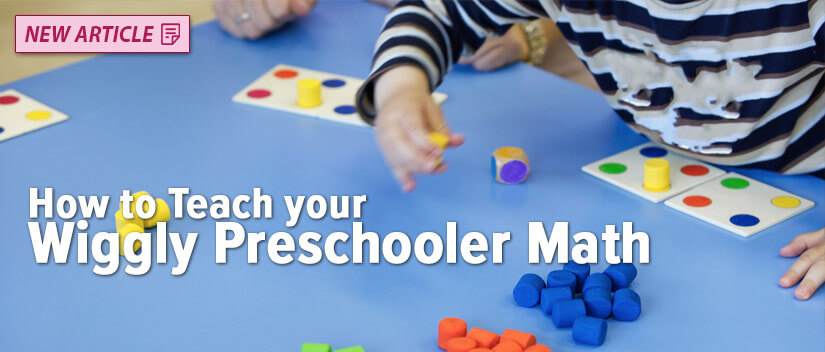How to Teach your Wiggly Preschooler Math