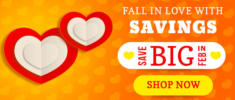 Fall in Love with Savings!
